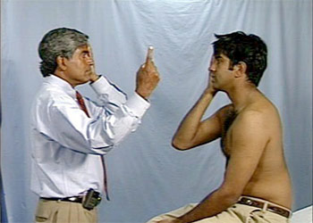 The Procedure of Confrontation Eye Test
